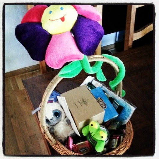 Gift basket for our egg donor